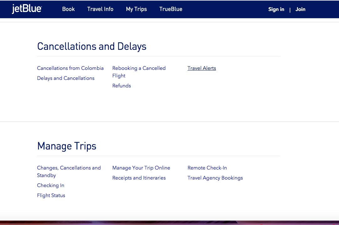 Jetblue Airlines FAQ's